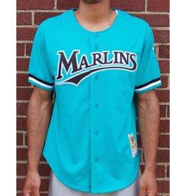 Mitchell & Ness Andre Dawson1995 Authentic Mesh BP JerseyFlorida Marlins