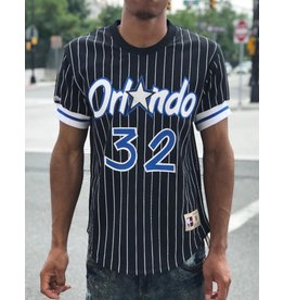Mitchell & Ness ORLANDO MAGIC SHAQUILLE O'NEAL MESH NAME & NUMBER CREW NECK
