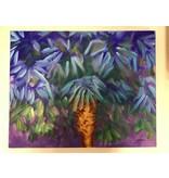 Blue Cabbage Palm 16x20