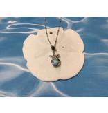 Larimar Starfish Necklace SS