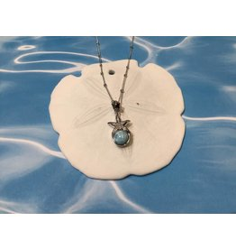 Larimar Starfish Necklace SS