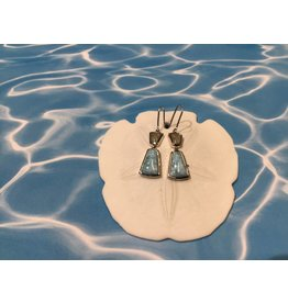 Larimar/MI  MM Drop earring