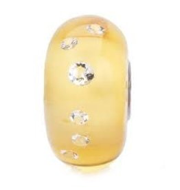 Diamond Bead Amber TGLBE-00167