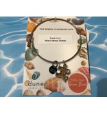 Marco Island Shell Bangle w/ Puzzle For Autism  SP