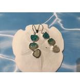 BC Triple Drop Earrings Gradient SS - Boutique