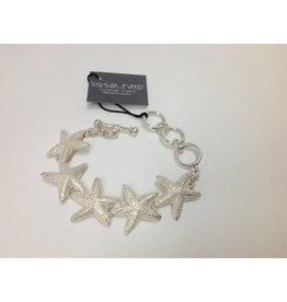 Starfish  Bracelet by Charles Albert