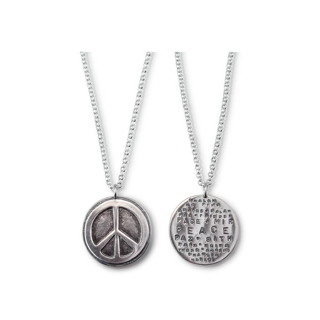"World Peace 20"" Necklace LTD"