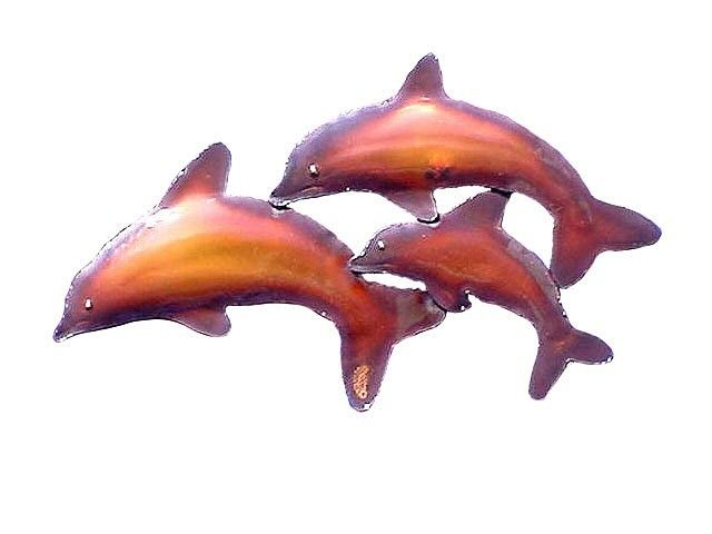 Copper Dolphin Family