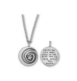 "Moon Swirl 20""  Necklace"