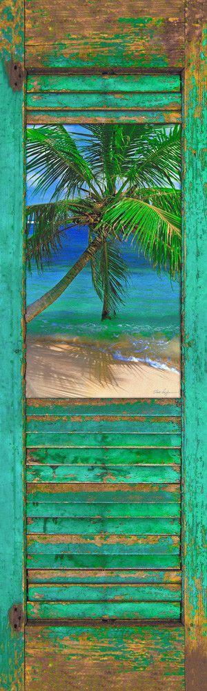 Shutter w/ Beach 23A V 40x14
