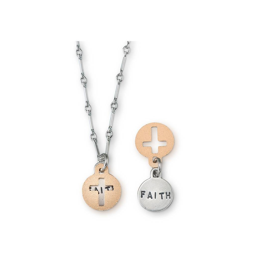 "Cross Faith 16"" Necklace"