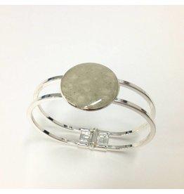 Marco Island Sand Marina Bracelet Silver Plated