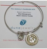 Marco Island Beach Bangle w/ Anchor