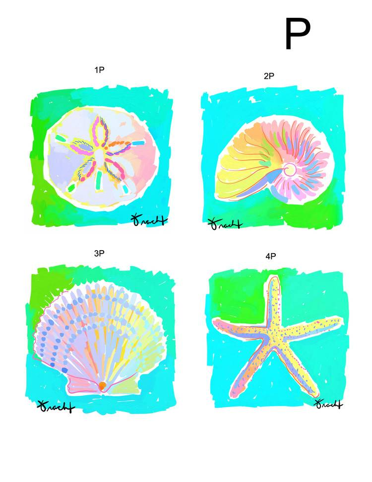 Marco Starfish 30x30 Canvas Giclee