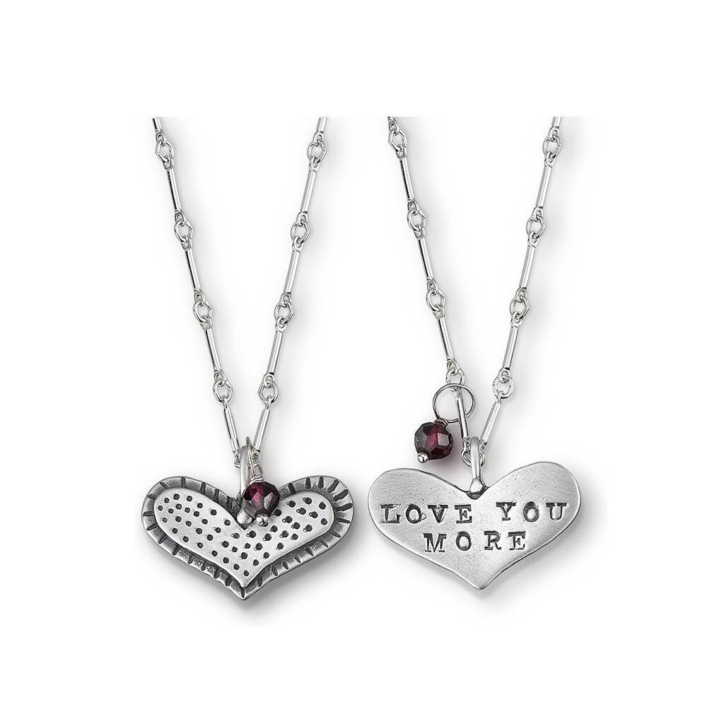 """Love You More  18"""" Necklace"""