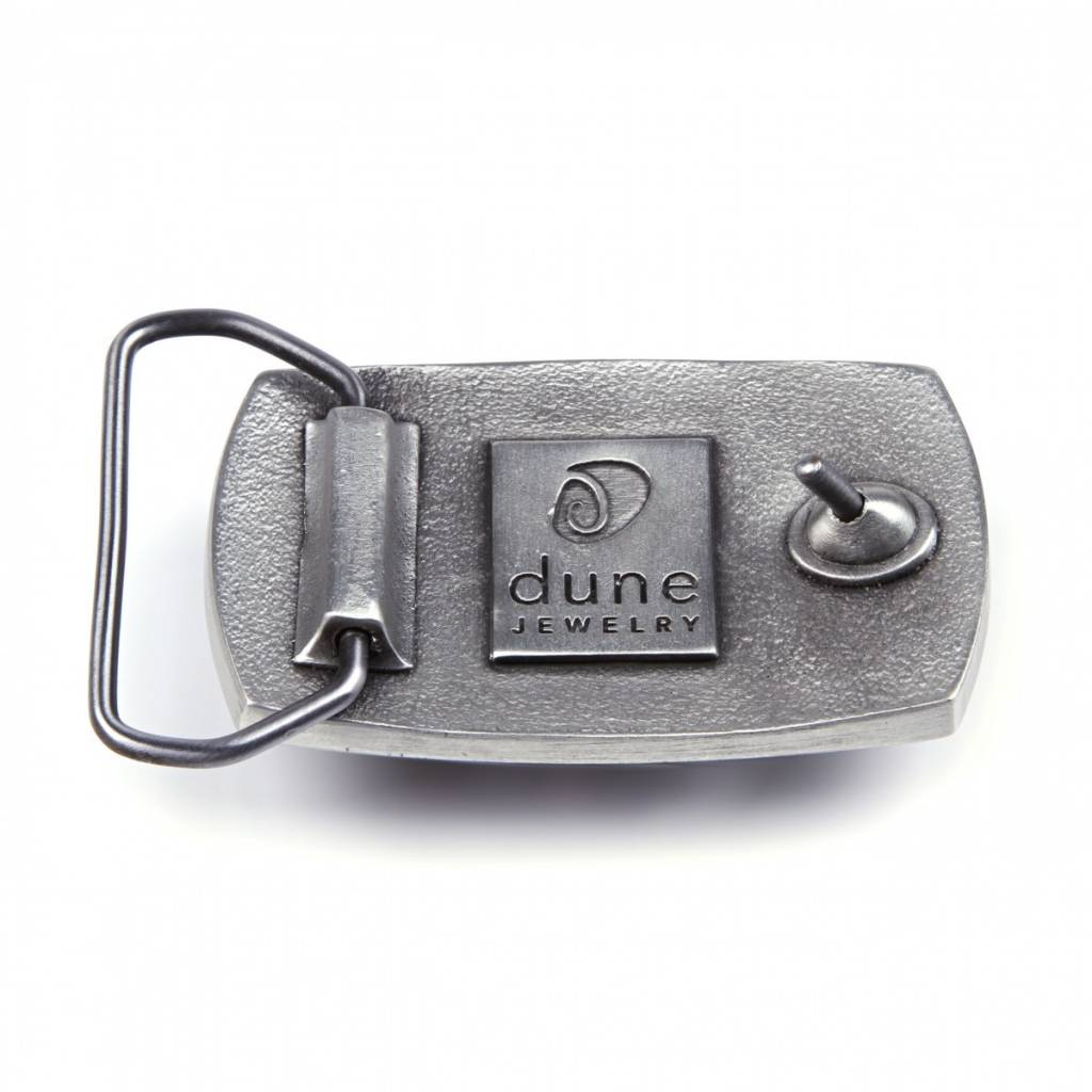 Belt Buckle Marco Island Sand Pewter