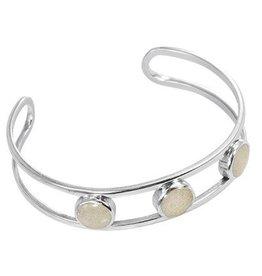 Triple Sandglobe Bracelet w/ Marco Island Sand