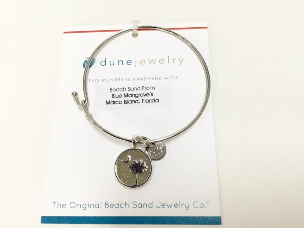 Marco Island Beach Bangle Palmetto Moon SP