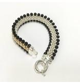 Midnight Onyx Reversible Bracelet