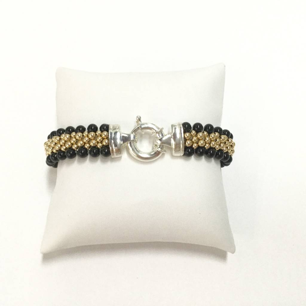 Midnight Onyx Reversible Bracelet
