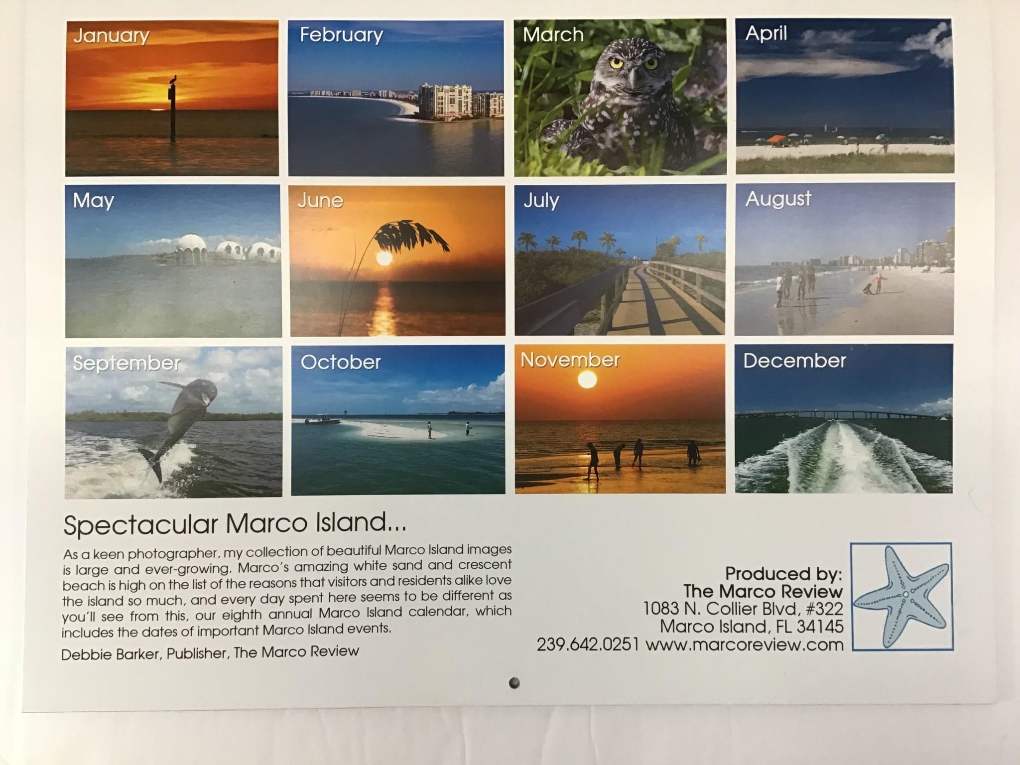 2020 Marco Calendar
