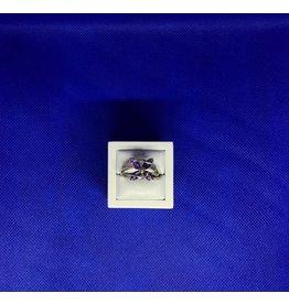 Esprit Creations Amethyst Flower ring 8