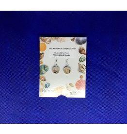 Sandglobe Earrings MI Shells