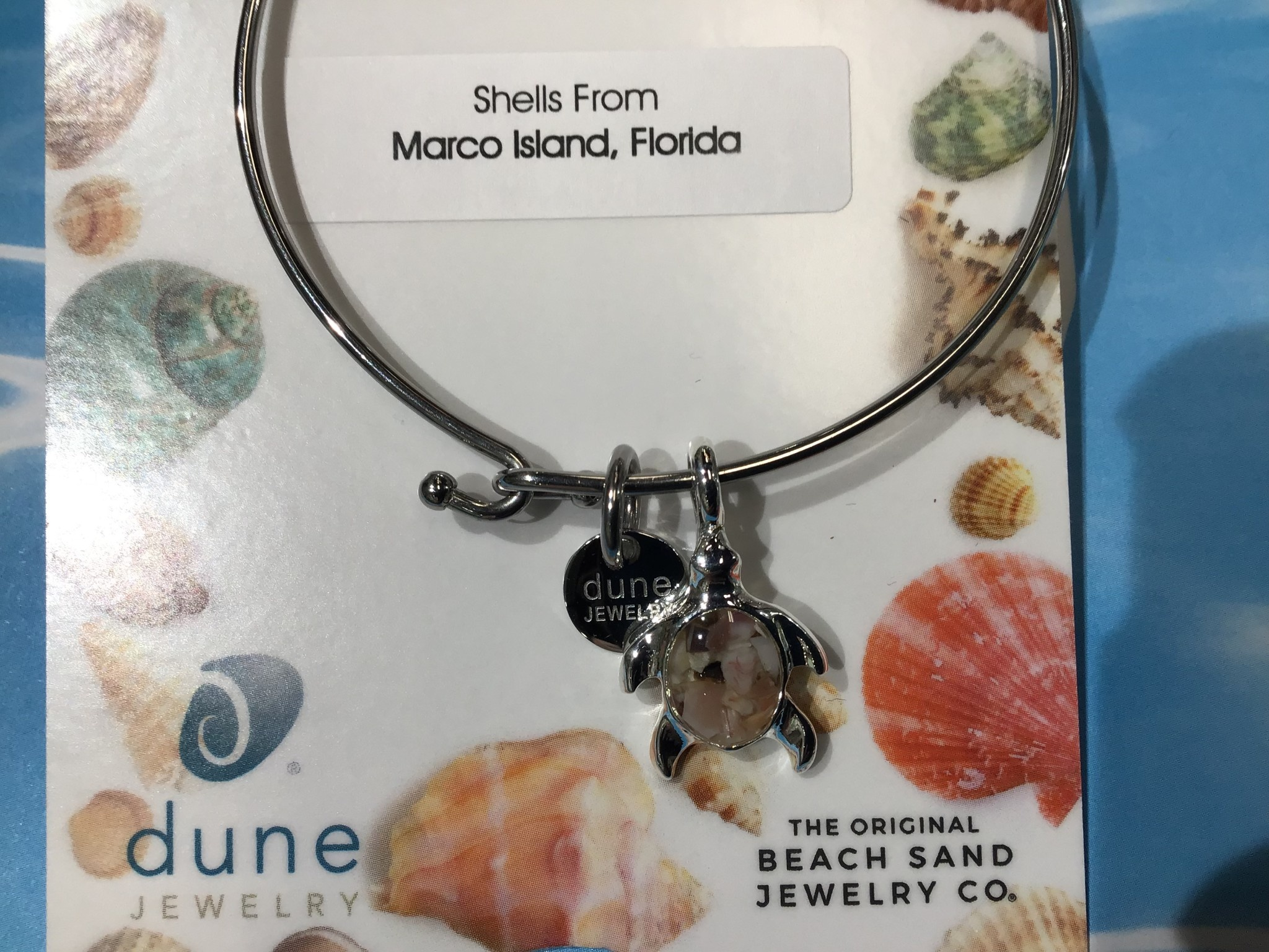 MI shells Bangle w/ Turtle SP