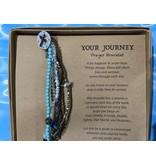 Prayer Bracelet turq