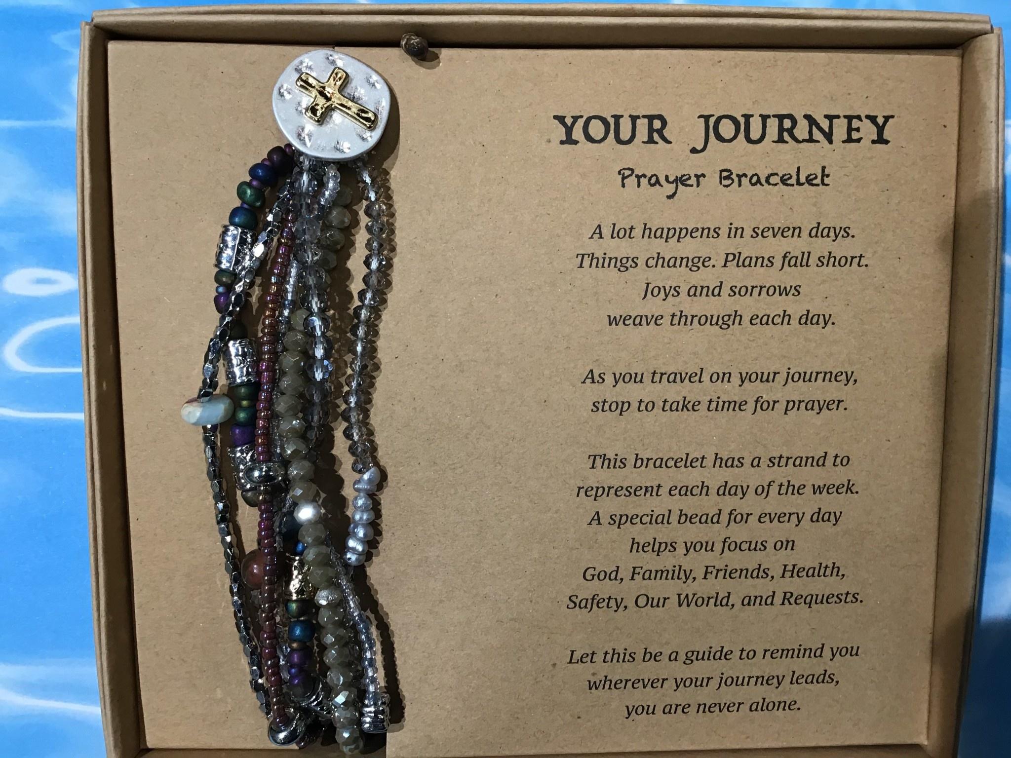 Prayer Bracelet Grey