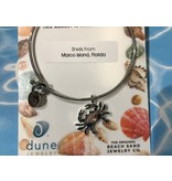 Marco Island Beach Bangle w/ Crab Shells