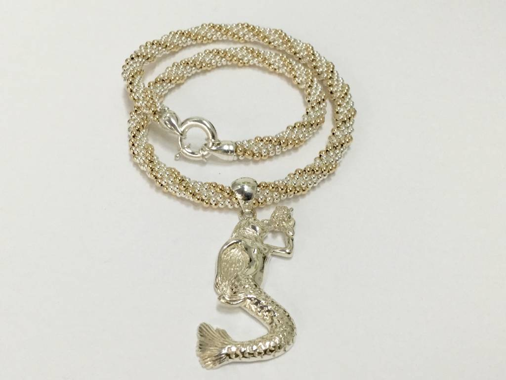 Gold & Silver Twist Necklace