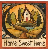 Sincerely Sticks 6x6 Plaque Looks Like Home  SS