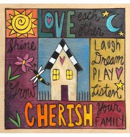 Sincerely Sticks 6x6 Plaque Sweet Susannah  SS