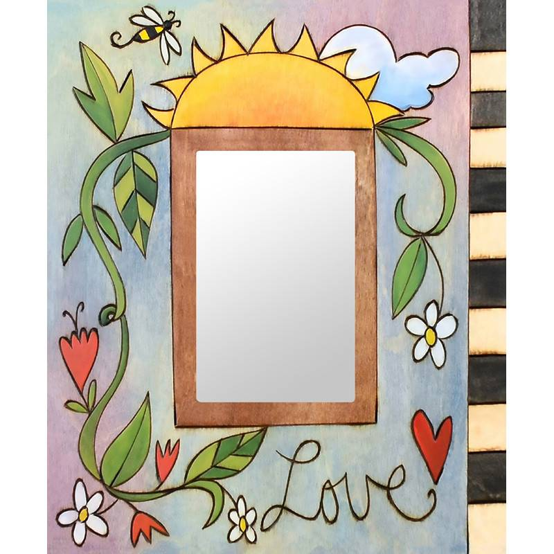 Sincerely Sticks 4x6 Frame Sweet Pea McB  SS