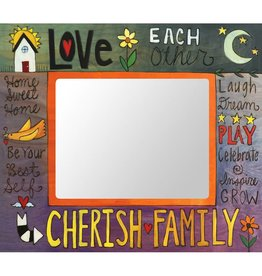Sincerely Sticks 8x10 frame What a Family Means  SS