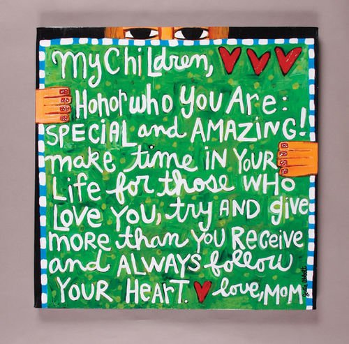 My Children Canvas