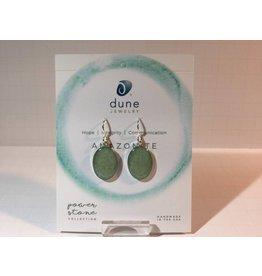 Amazonite Sandrop Earrings Large