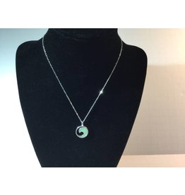 Amazonite Wave Necklace SS