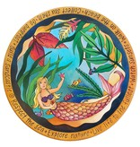 """Mermaid of the Sea"" Lazy Susan 20""D"