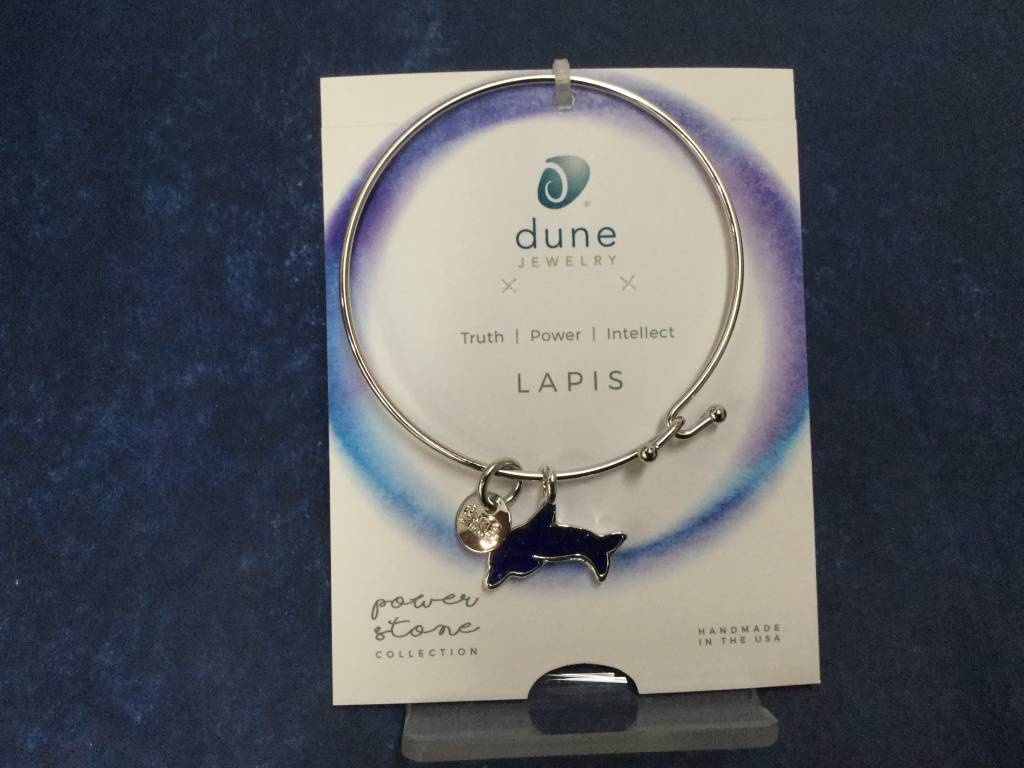Lapis  Dolphin Beach Bangle