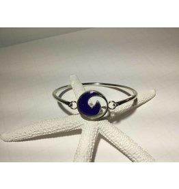 Lapis Wave  Bracelet SS