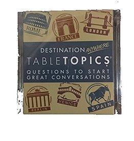 Destination Anywhere Tabletopics