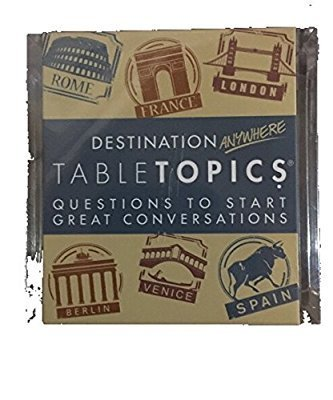 Destination Anywhere Tabletopics