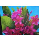 """Art Block - Frangipani Deep Pink 5x7"""""""