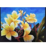 "Art Block - Frangipani Yellow 5x7"""