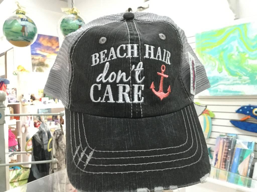 Beach Hair Don't Care w/ Anchor