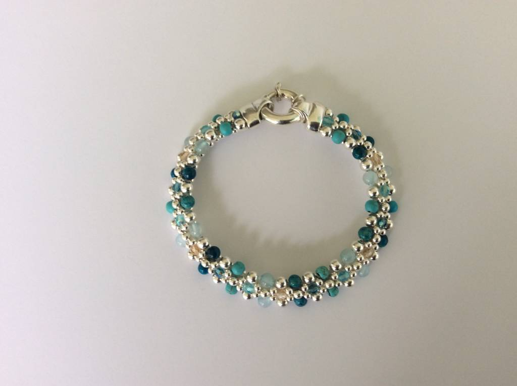 "Classic Royal Marco Island Reversible Bracelet (1/4""wide)"