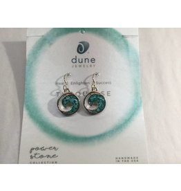 Turquoise Wave Earrings SS