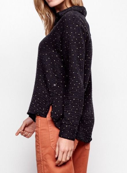 Sundry Dots Classic Button Down